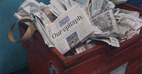 El 'Citizen' dice adiós en su web con esta signiticativa foto.