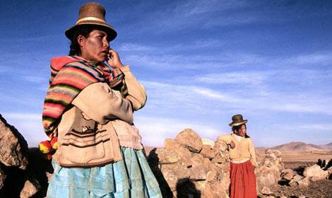 Dos mujeres andinas. | 'Plataforma 2015 y más'