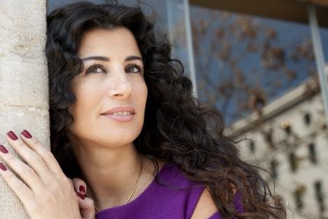 La escritora libanesa Joumana Haddad. | Bernardo Díaz