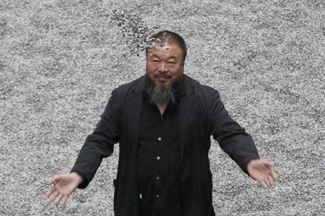 |Ai Weiwei, el año pasado en la Tate Modern de Londres.| Reuters - ElMundo.es