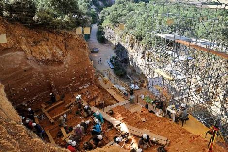 En Dolina no volverán al terreno del 'antecessor' de 800.000 años en una década.   I. L Murillo