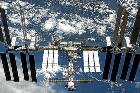La Estación Espacial Internacional, vista desde el espacio.|ESA