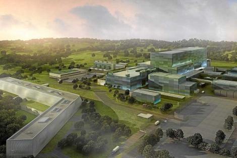 Recreación de la sede del ITER en Cadarache (Francia). | EL MUNDO