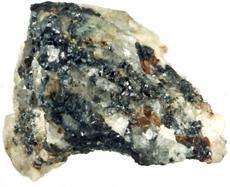 Roca con cuasicristales. | PNAS
