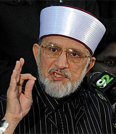 Muhamad Tahir ul Qadri.| Afp
