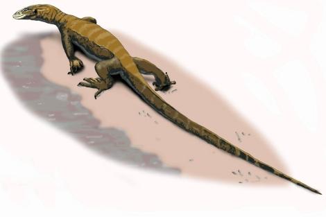 Dibujo del 'Arcanosaurus ibericus'. | Ical