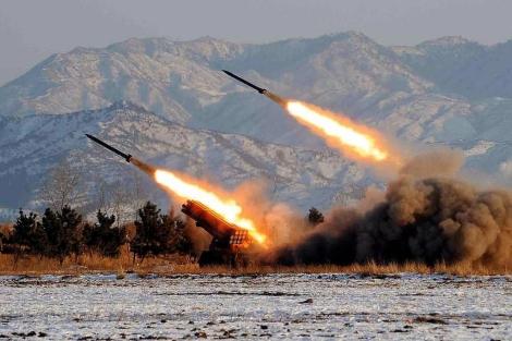 Pruebas con misiles en Corea del Norte en 2009. | Afp