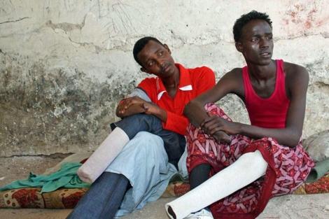 Amputados en Somalia tras ser condenados por robo.| ELMUNDO