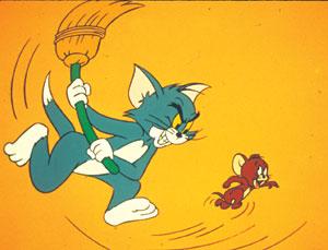 Fotograma de la serie Tom y Jerry. Fuente El Mundo