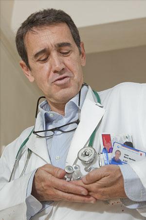 Javier Marco, médico internista. (Foto: Gonzalo Arroyo)