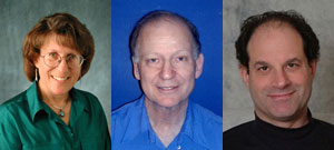 Linda Watkins, Baruch Minke y David Julius. (Foto: El Mundo)