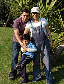 Marcia, embarazada de Isabella, fallecida a las 35 semanas de gestación