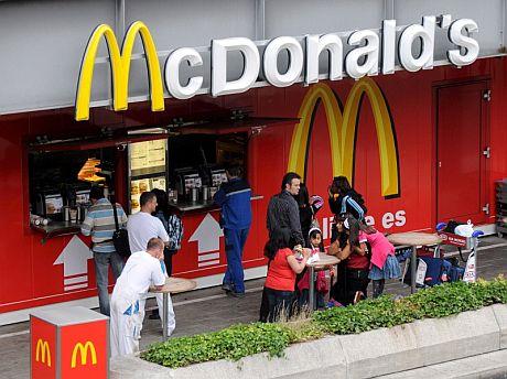 Restaurante de McDonald's del aeropuerto de Fráncfort. | EFE