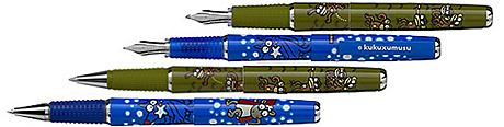 Inoxcrom fabrica los boligrafos de kukusumuxu, entre otros.|Kukusumuxu