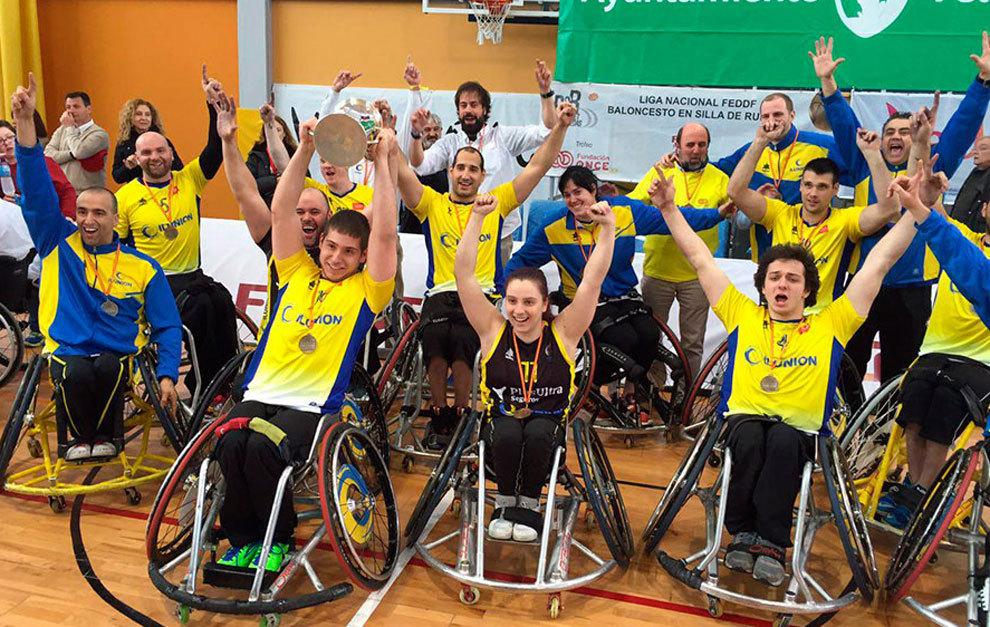 El CD Ilunion celebra su 15ª Copa del Rey