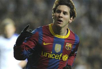 En Leo Messi ha marcat (un cop més) l'únic gol del Barça contra el Copenhagen