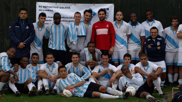 La 'morriña' se cura con fútbol
