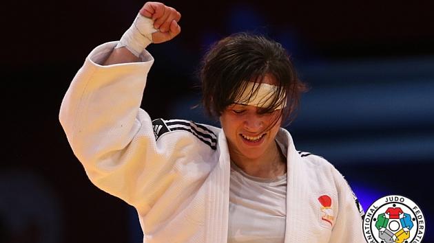 Julia Figueroa. Foto: Federación Internacional de Judo