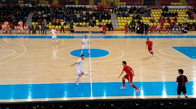 España asegura su pase al vencer a Macedonia