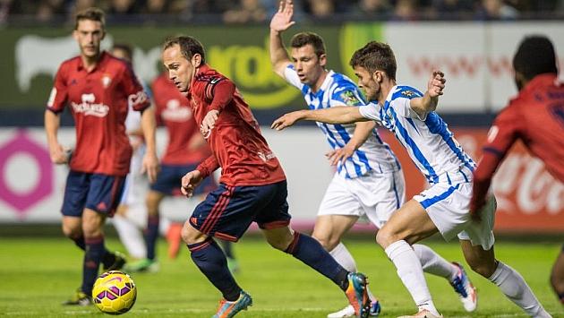 En El Sadar en la primeran vuelta Osasuna se impuso por 2-1 / Marca