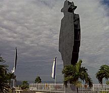 Estatua de Sandino.