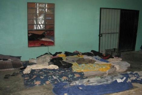 Lugar en el que estaban secuestrados los inmigrantes. | Reuters
