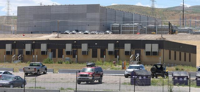 Imagen del edificio de la agencia NSA en Bluffdale, Utah. | Efe