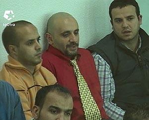 Larbi ben Sellam, Mouhannad Almallah, Basel Ghalyoun y Otman el Gnaoui (abajo). (Foto: LaOtra)