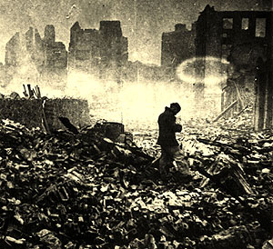 Fotograma del documental 'El bombardeo de Gernika'. (Foto: Canal de Historia)