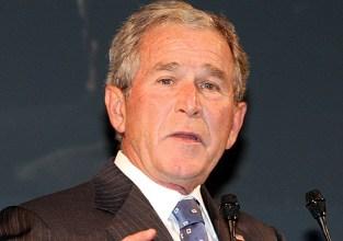 El ex presidente de EEUU, George W. Bush. |