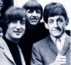 Sarkozy, con Ringo Starr y Nicalas Sarkozy.