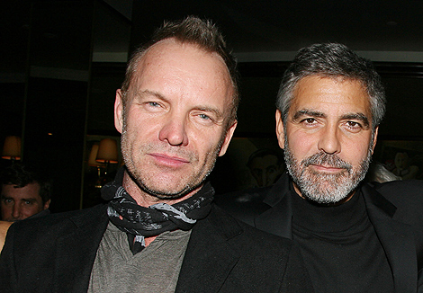 Sting y George Clooney participarán en 'Hope for Haiti now'.| Ap
