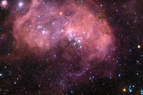 Formación de estrellas en la Gran Nube de Magallanes. | ESA