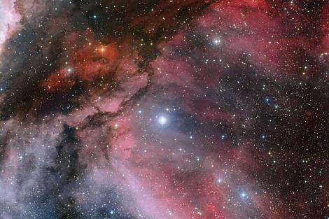 Nueva imagen de la estrella WR22 en la nebulosa Carina. | ESO