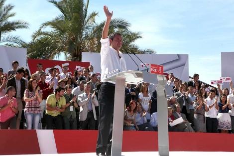 El candidato socialista a la Alcaldía de Sevilla, Juan Espadas. | Jesús Morón