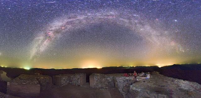 Panorama de la Vía Láctea | J.C.Casado, tierrayestrellas.com
