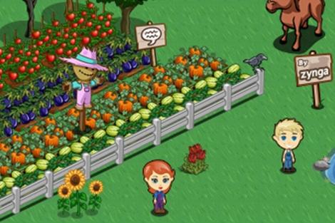 Farmville, de Zynga, una de las aplicaciones que transmitió datos.