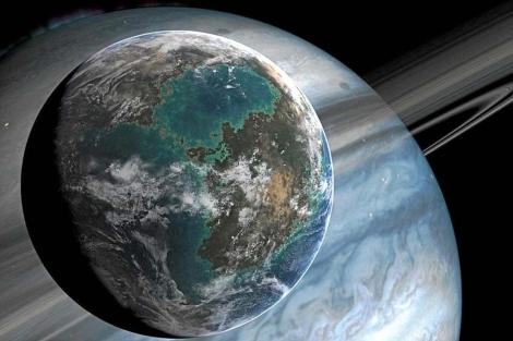 Recreación de un planeta extrasolar. | National Geographic