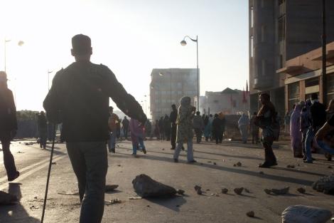 Imagen de las calles de El Aaiún. | Blog. Poemario por un Sáhara Libre