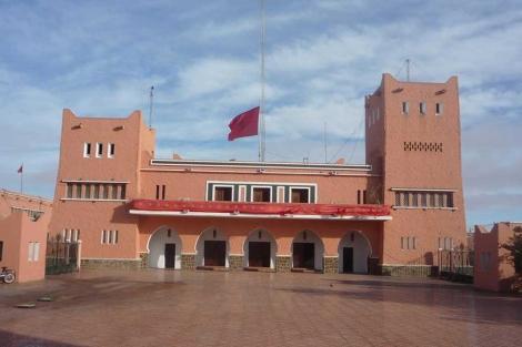 Edificio del gobernador general de El Aaiún.| Ana Romero