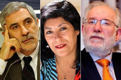 Gaspar Llamazares, Almudena Grandes o Carlos Berzosa son algunos de los presentes.