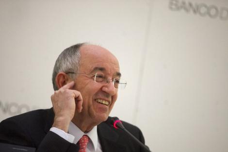 El gobernador del Banco de España, Miguel Ángel Fernández Ordóñez. | Óscar Monzón