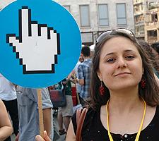 Otra imagen de la manifestación | Ilya U. Topper