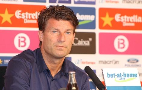 Michael Laudruo, entrenador del club rojillo | RCD Mallorca
