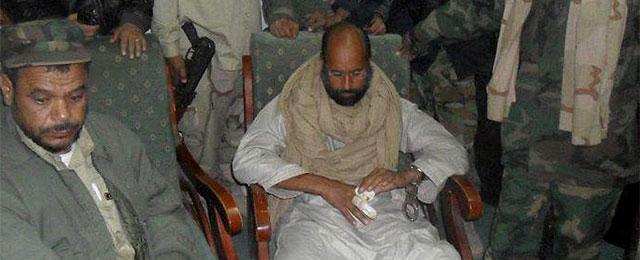 Saif al Islam, tras ser capturado. | Efe