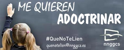 Imagen de la campaña de NNGG de Castellón.