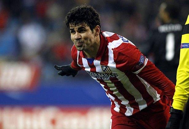 Diego Costa volvió a marcar. Es una pesadilla para los rivales.
