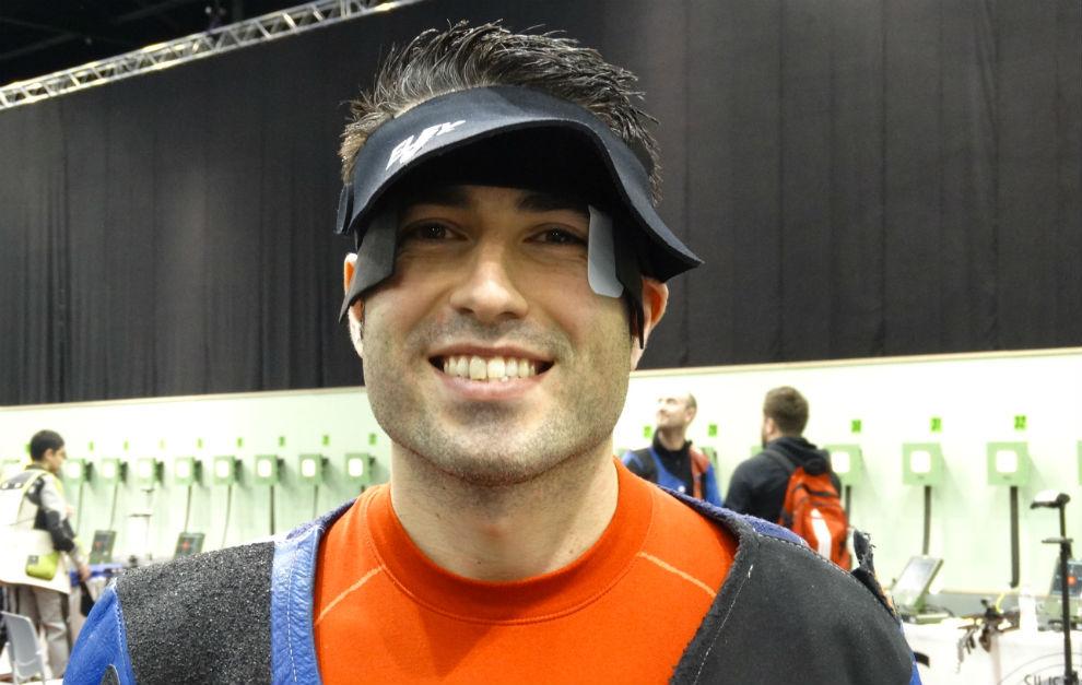 Jorge Díaz tras conseguir su plaza olimpica para Río 2016.