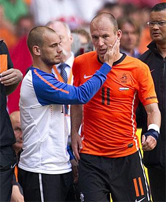 Robben & Sneijder