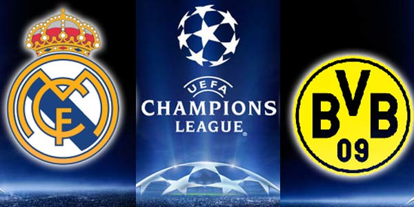Real Madrid vs Borussia Dortmund en vivo por Internet